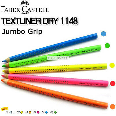 Faber-Castell Textliner Dry 1148 Highlighting Pencils (ANY 5 PENCILS)