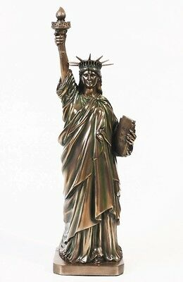 Freedom Statue of Liberty Statue New York City Monument Quality Bronze Resin