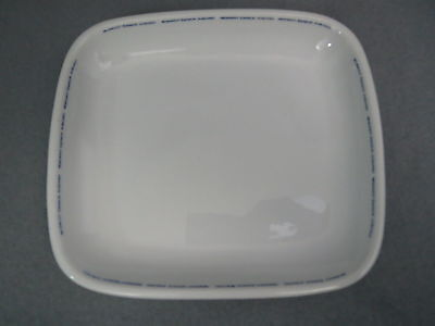 Vintage Midwest Express Airlines SQUARE DINNER PLATE ~ ABCO CHINA ~