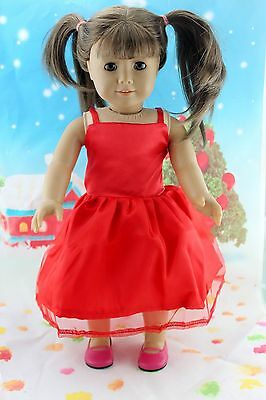 "COOL New Doll Clothes fits 18"" American Girl Handmade Hot Summer Dress X38"