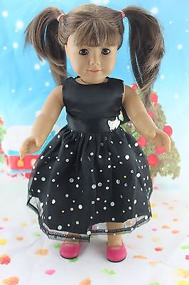 "cool New Doll Clothes fits 18"" American Girl Handmade Hot Summer Dress X14"