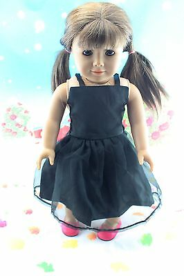 "2014 New Doll Clothes fits 18"" American Girl Handmade Hot Summer Dress X56"