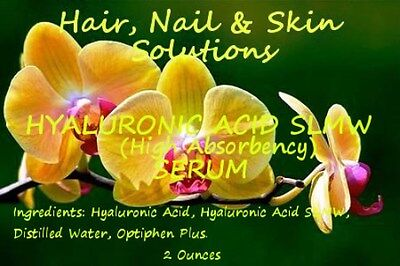 100% HYALURONIC ACID SERUM High Quality 2 Oz $3.99 SPECIAL OFFER!!! Free Ship