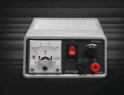 OTE HY-152A Variable Analog Display DC Power Supply 1.5 -15 V @ 2A **SPECIAL***