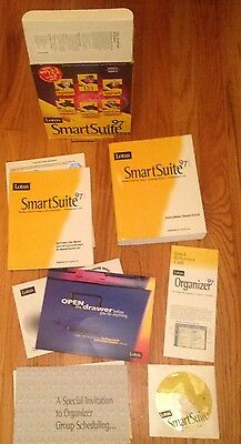 Lotus Smartsuite 97 w/Lotus 1-2-3, Word Pro, Approach, Freelance Graphics & more