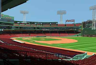 Awesome Seats! GS 10 Row 6. End Seats. Red Sox Vs. Twins Wed. 6/3/15