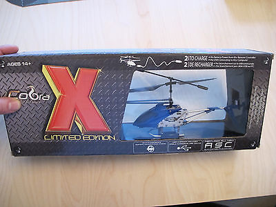 Cobra X Limited Edition 3 Channel Metal body Mini Helicopter Gyro Gyrocopter