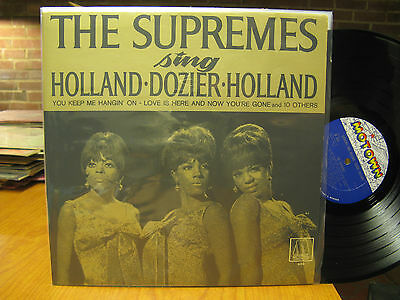 The Supremes Sing Holland-Dozier-Holland LP Motown 650 Mono