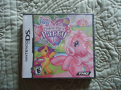 NEW in Box NINTENDO DS My Little Pony Pinkie Pie's Party