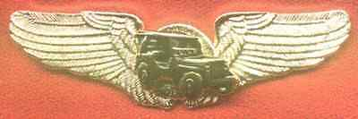 Willys-Jeep Golden Finished Pilot Wings