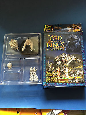 The Lord Of The Rings Troll Chieftain, Nuevo Metal (Leer Description)