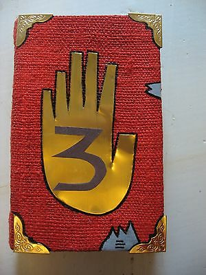 Gravity Falls custom fanmade Journal number 3 blank pages Monster manual toy