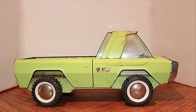 Buddy-L Vintage Pickup Truck…Wheels roll…Some Wear but good Condition 13-1/2x6x5