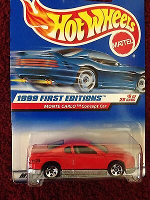 Hot Wheels 1999 First Editions Monte Carlo Concept Car #6 of 26 cars