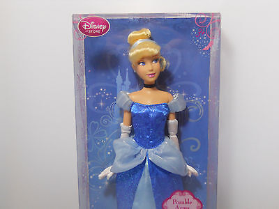 """Disney Store Classic Princess Cinderella Doll 12"""" Shipped Priority Mail NEW"""