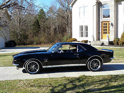 Chevrolet : Camaro RS Might be the Best 1967 RS Big Block Camaro on the Planet! Frame-off-5-Spd Black