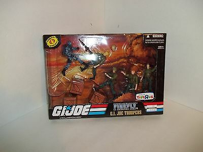G.I. JOE TOYS R US EXCLUSIVE FIREFLY VS JOE TROOPERS RARE SEALED UNOPENED