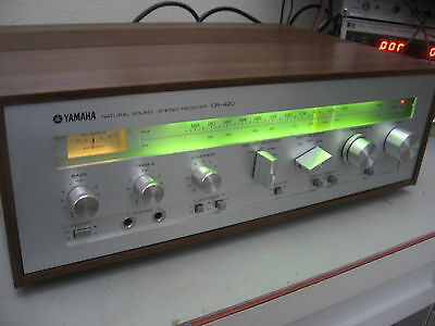 Vintage Yamaha CR-420 Natural Sound Stereo Receiver-Beautiful Condition LED ligh