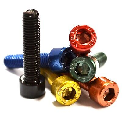 M4 GWR Colourfast® Cap Head Screws - A2 Stainless Steel - Coloured Socket Bolts