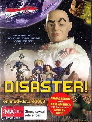 DISASTER - Team America style... Animation Spoof COMEDY FILM DVD (NEW & SEALED)
