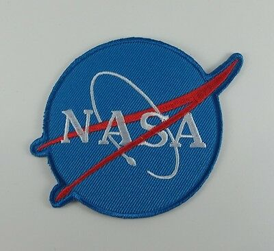 EMBROIDERED SEW IRON ON PATCH NASA SPACE BIKER MOTOCYCLE T-SHIRT JACKET JEAN CAP