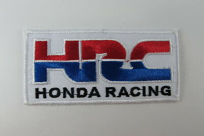 LOGO HRC HONDA RACING TEAM EMBROIDERED IRON ON PATCH MOTOCYCLE T-SHIR JACKET CAP