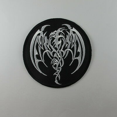 DRAGON GHOST  EMBROIDERED SEW IRON ON PATCH BIKER MOTOCYCLE T-SHIRT JACKET JEAN