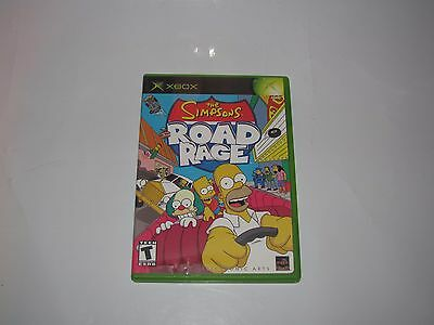 THE SIMPSONS ROAD RAGE FOR MICROSOFT XBOX COMPLETE