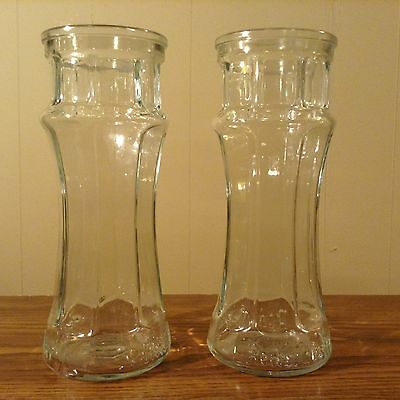 Pair of Vintage RED LOBSTER LIGHTHOUSE TALL Drinking Glass