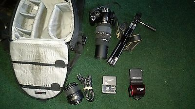 Nikon D3000 10.2 MP Digital SLR Camera Kit w/70-300mm Zoom