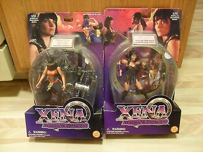 1998  XENA WARRIOR PRINCESS SINS OF THE PAST AND HAREM XENA  ACTION FIGURE 5+