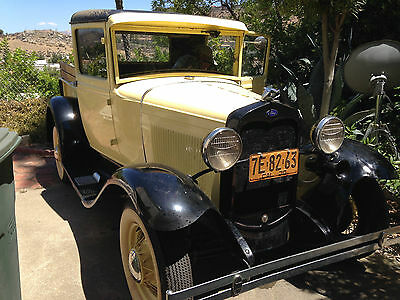 Ford : Model A basic 1930 ford model a truck