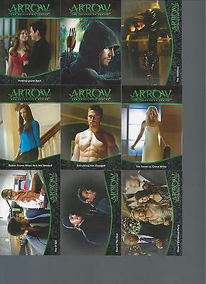 Cryptozoic ARROW Season One 95-card Base Set #1-95 w/ Wrapper