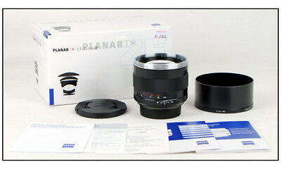 New Zeiss Planar T* 85mm F/1.4 ZE for Canon EOS 5D III 1Dx 1DS 1D mark