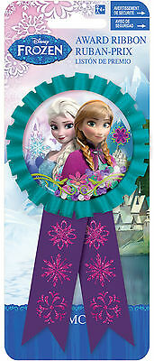 Frozen Anna & Elsa Party Favour | Award Ribbon | Badge | Rosette 1-8pk