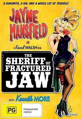 THE SHERIFF OF FRACTURED JAW - JAYNE MANSFIELD - NEW & SEALED REGION 4 DVD