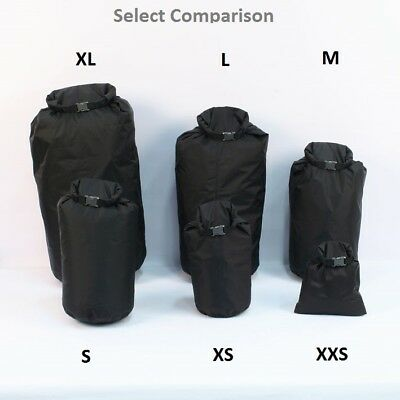 Exped Fold Dry Bag. Rucksack Daypack Waterproof Insert. Bag organiser. Black