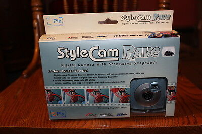 StyleCam Rave Digital Camera with Streaming Snapshot