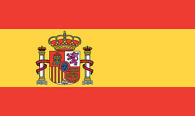 Spain National Polyester Flag (5 x 3 Foot)