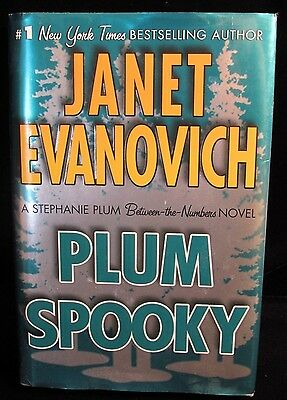 Plum Spooky Between the Numbers Novel Janet Evanovich Hard Cover First Edition