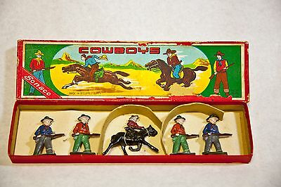 COWBOYS - ORIGINAL BOX - OCCUPIED JAPAN