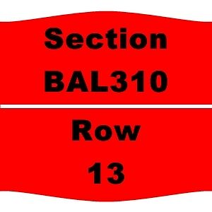 2 TIX Boston Bruins vs TBD Eastern Conference Quarterfinals - R1 G3 4/23 TD