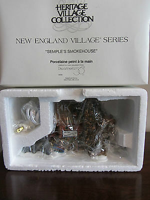 DEPT 56 - NEW ENGLAND VILLAGE - SEMPLES SMOKEHOUSE #56580  NEW!!!