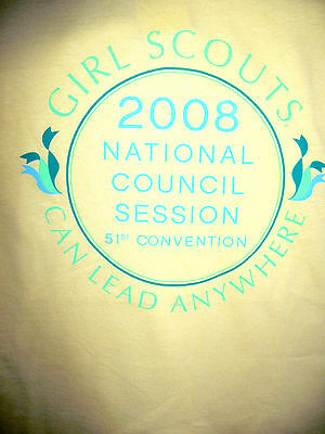 Girl Scout Convention T-SHIRT, Indianapolis 2008 Adult Medium RARE GIFT Souvenir