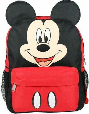 """Disney mickey Mouse 12"""" backpack with ear"""