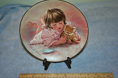 Hamilton Collection FEEDING TIME THE MAGIC OF CHILDHOOD by Abbie Williams No COA