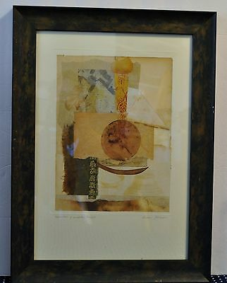"Susan Jokelson Two Framed Prints ""Apparition of Unspoken Thoughts""--""Green Tea"""
