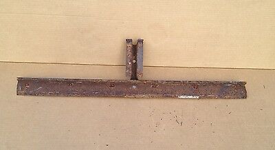 1928 1929 1930 1931 Ford Model A Coupe Roadster Rear Lower Panel Brace Banger