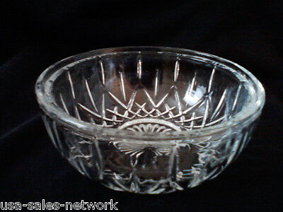 ELEGANT CUT GLASS CANDY DISH BOWL - NICE GIFT - MINT CONDITION