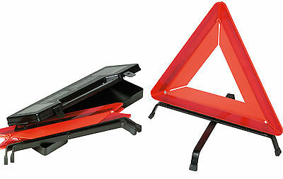 Sumex Car Breakdown & Travel O.E.M Quality Emergency Red Warning Triangle & Case